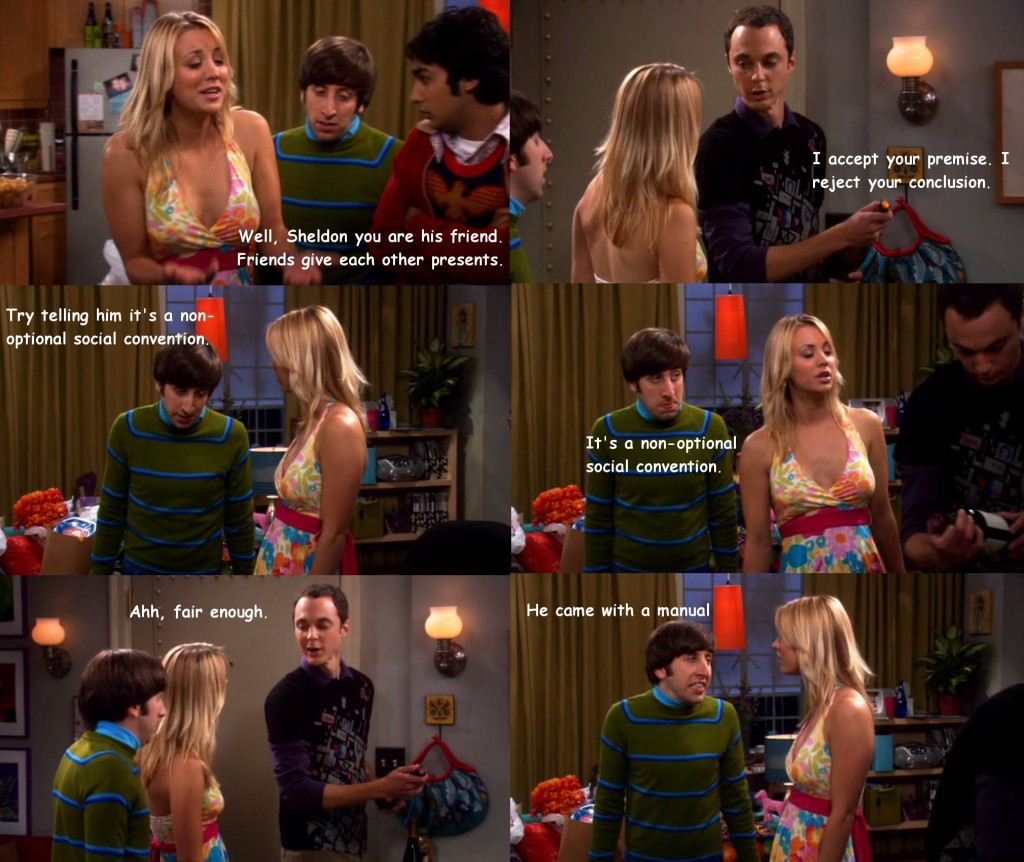 Big Bang Theory Episode 116 from FunnyScenes.com