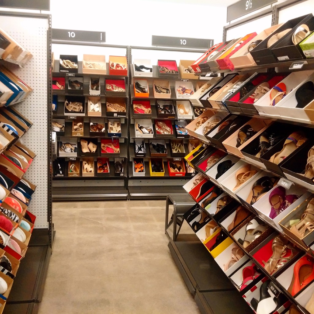 Shoes, as far as the eye could see.