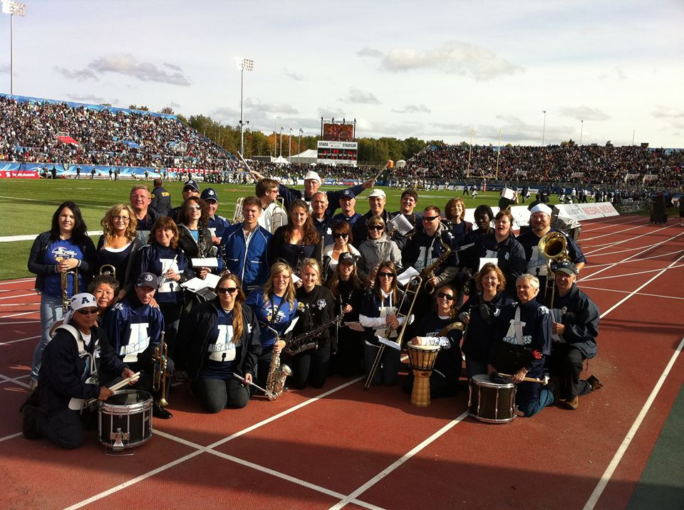 Band on track in Moncton